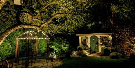 franklin landscape lighting night owl outdoor backyard lighting ftimg
