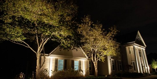 mequon landscape lighting night owl residential security ftimg