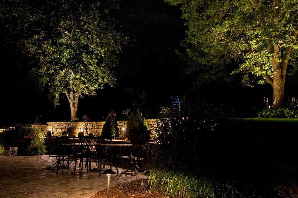 pewaukee landscape outdoor lighting night owl patio lights ftimg