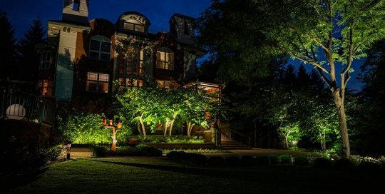 brookfield landscape lighting night owl estate outdoor lighting services plant design statuary metal art ftimg