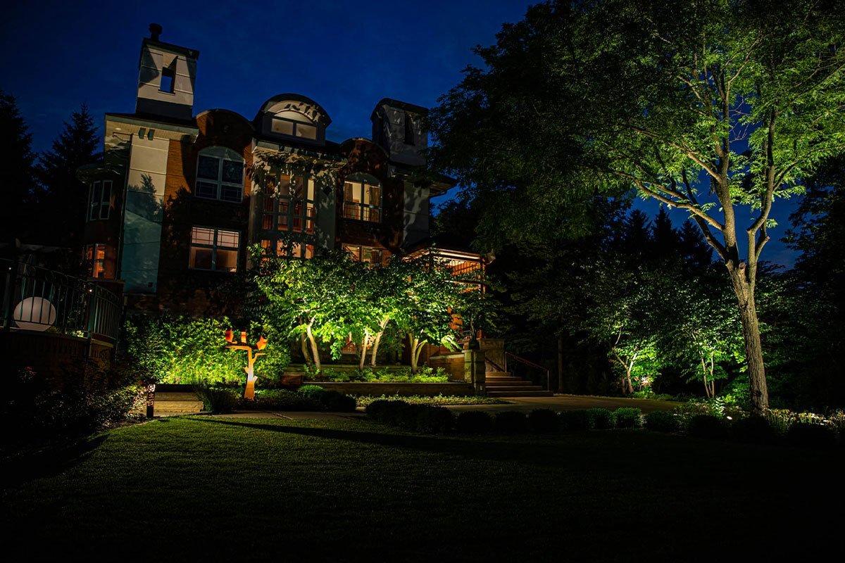 brookfield landscape lighting night owl estate outdoor lighting services plant design statuary metal art ftimg