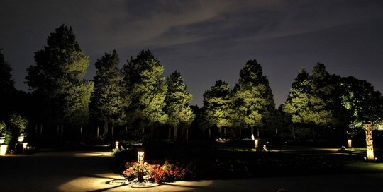 night owl landscape lighting boerner botanical gardens nature uplighting custom decorative fixtures ftimg