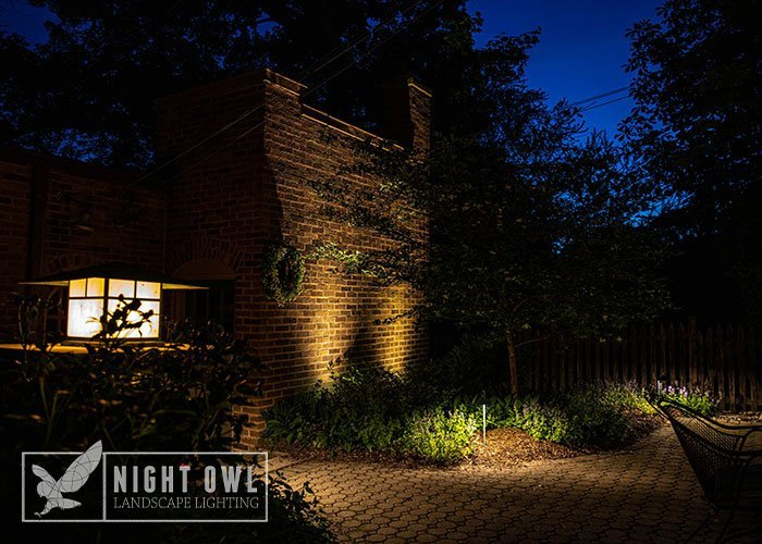 find landscape lighting system maintenance for professional landscapes by night owl in wisconsin
